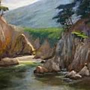 Point Lobos Hidden Cove Art Print