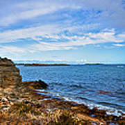 Point Peron Wa Art Print