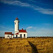 Point Wilson Lighthouse Art Print