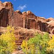 Poison Spider Mesa In The Fall Art Print by Gary Whitton