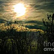 Polarized Sunset Art Print