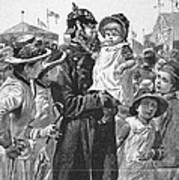 Policeman, 1885 Art Print
