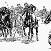 Polo, 1876 Art Print