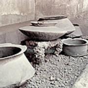 Pompeii: Cooking Pots Art Print