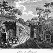 Pompeii: Herculaneum Gate Art Print
