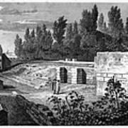 Pompeii: Stairs, C1830 Art Print