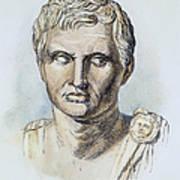 Pompey (106-48 B.c.) Art Print