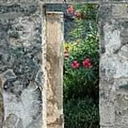 Pompii Columns 1 Pompeii Italy Art Print