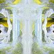 Pond In Fairyland Art Print