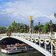Pont Alexander IIi Art Print by Elena Elisseeva
