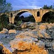 Pont Julien. Luberon. Provence. France. Europe Art Print