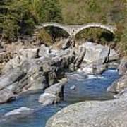 Ponte Dei Salti - Lavertezzo Art Print