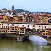 Ponte Vecchio From Uffizi Art Print