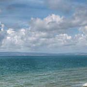 Poole Bay Panorama Art Print