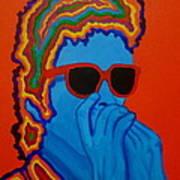 Pop Dylan Art Print by Pete Maier