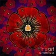 Poppies 2012 Art Print