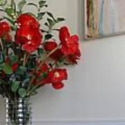 Poppies In Oil Art Print