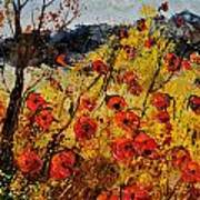 Poppies In Provence 456321 Art Print