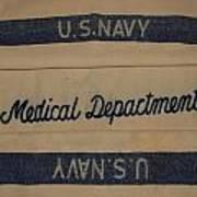 Pops W W I I Navy Blanket Art Print