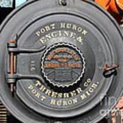 Port Huron Engine And Thresher Company . Steam Train Locomotive Engine 8613 . 7d12906 Art Print
