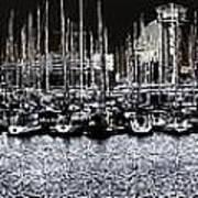 Port Vell Barcelona Art Print