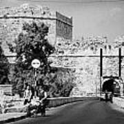Porta Di Limisso Old Land Limassol Gate In The Old City Walls Famagusta Art Print