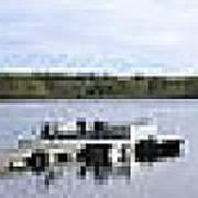 Portage Lake Panorama Art Print