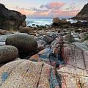 Porth Nanven Sunrise Art Print