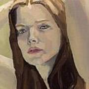 Portrait Of Ashley Art Print