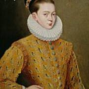 Portrait Of James I Of England And James Vi Of Scotland  Art Print