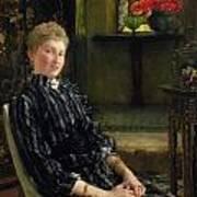 Portrait Of Mrs Ralph Sneyd Art Print