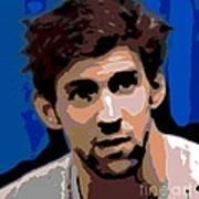 Portrait Of Phelps Art Print