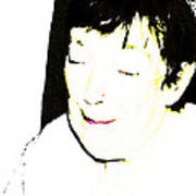 Portrait Of Tears 1 Art Print