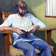 Portrait Study 1984 Art Print
