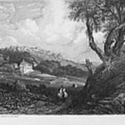 Portugal: Monastery, 1832 Art Print