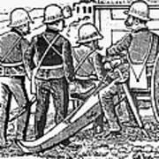 Posada: The Artillerymen Art Print