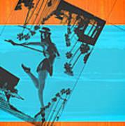 Post Card From La Art Print