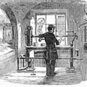 Post Office, 1856 Art Print