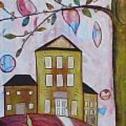 Postal Hill Art Print