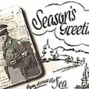 Postcard From War Art Print