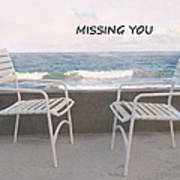 Poster Missing You Art Print