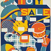 Poster: Toys, C1940 Print by Granger