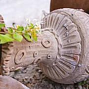 Pot Garden Ornament Art Print