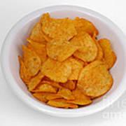 Potato Chips Art Print