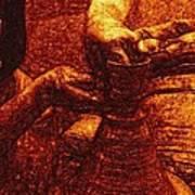 Potter In Rembrandt Oil Art Print