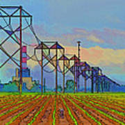Power Plant Photo Art Art Print