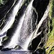 Powerscourt Waterfall, Co Wicklow Art Print