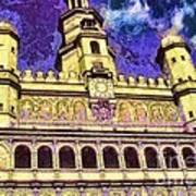 Poznan City Hall Art Print by Mo T