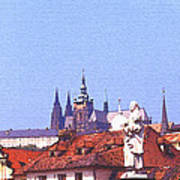 Prague Castle Art Print by Steve Huang