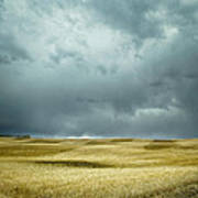Prairie Storm Alberta Art Print
